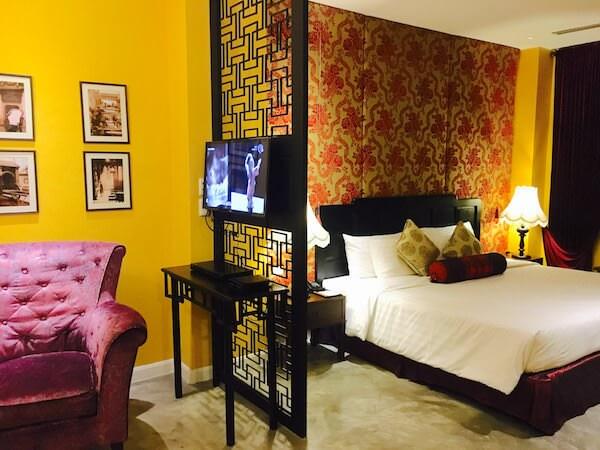 シャンハイ マンション バンコク (Shanghai Mansion Bangkok)の客室1