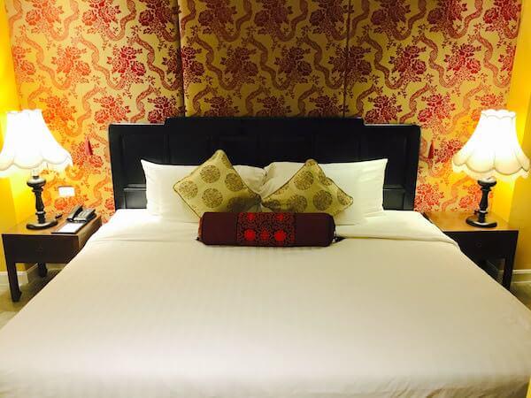 シャンハイ マンション バンコク (Shanghai Mansion Bangkok)のベッド
