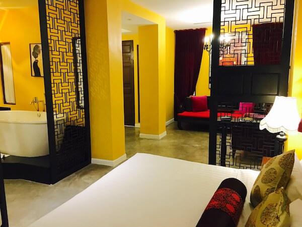 シャンハイ マンション バンコク (Shanghai Mansion Bangkok)の客室3