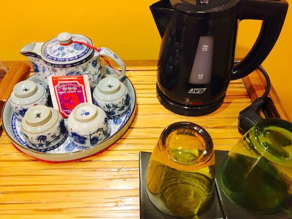 シャンハイ マンション バンコク (Shanghai Mansion Bangkok)の無料中国茶