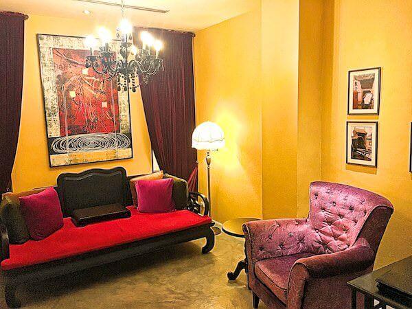 シャンハイ マンション バンコク (Shanghai Mansion Bangkok)の客室2