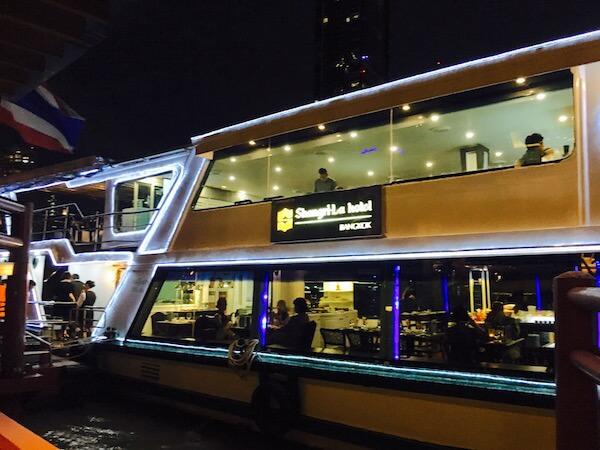 シャングリラ ホテル バンコク (Shangri-La Hotel, Bangkok)のホライゾンディナークルーズ2