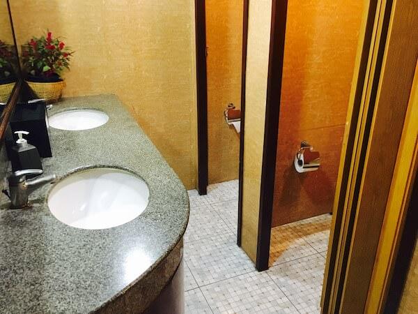 ホライゾンのトイレ