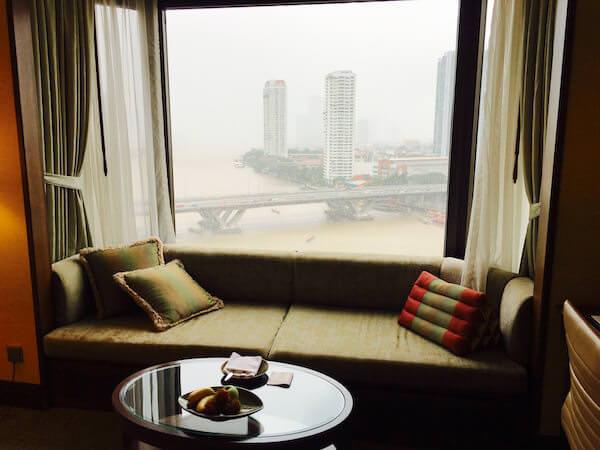 シャングリラ ホテル バンコク (Shangri-La Hotel, Bangkok)の窓