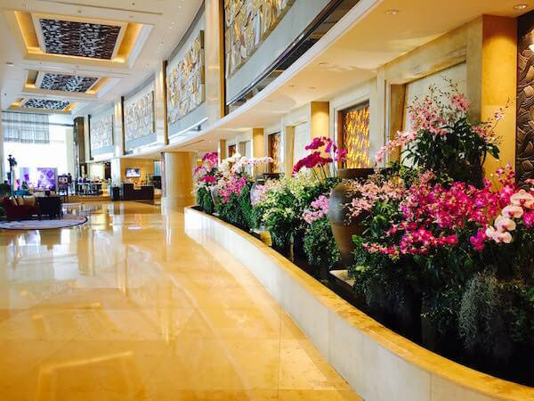 シャングリラ ホテル バンコク (Shangri-La Hotel, Bangkok)のロビー3