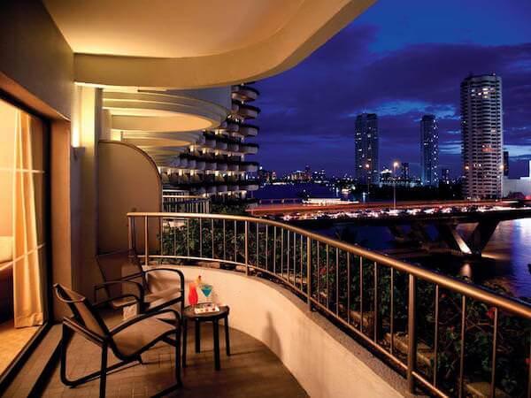 シャングリラ ホテル バンコク (Shangri-La Hotel, Bangkok)のバルコニー