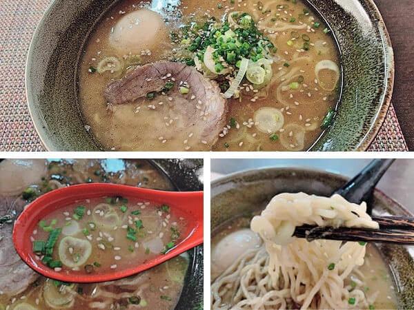 シャングリララーメン(Shangri - La Japanese Noodle Bar)のとんこつラーメン