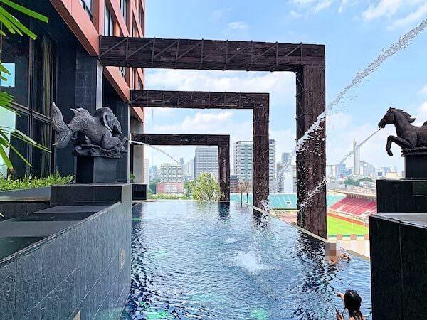 サイアム アット サイアム デザイン ホテル バンコク(Siam @ Siam Design Hotel Bangkok)のプール1