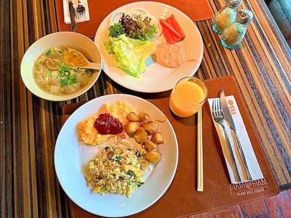 サイアム アット サイアム デザイン ホテル バンコク(Siam @ Siam Design Hotel Bangkok)の朝食