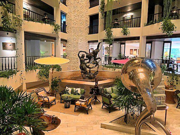 サイアムベイショアリゾートパタヤ(Siam Bayshore Resort Pattaya)のエントランスロビー2