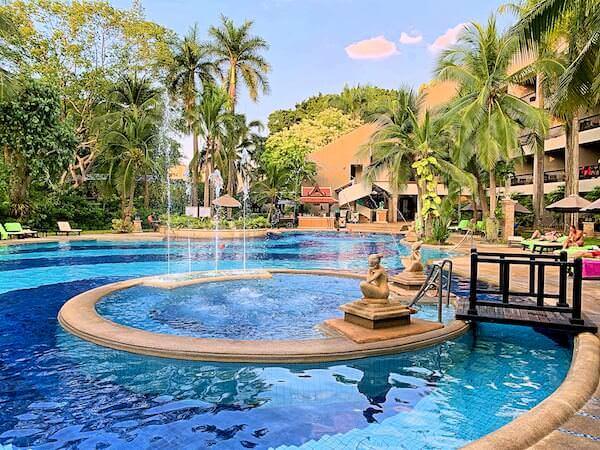 サイアムベイショアリゾートパタヤ(Siam Bayshore Resort Pattaya)のファミリー用プール1