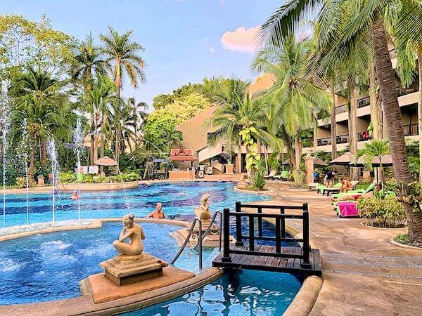 サイアムベイショアリゾートパタヤ(Siam Bayshore Resort Pattaya)のファミリー用プール3