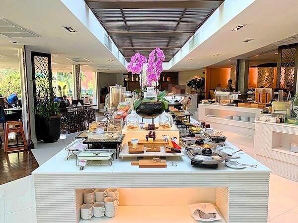 サイアムベイショアリゾートパタヤ(Siam Bayshore Resort Pattaya)の朝食会場1