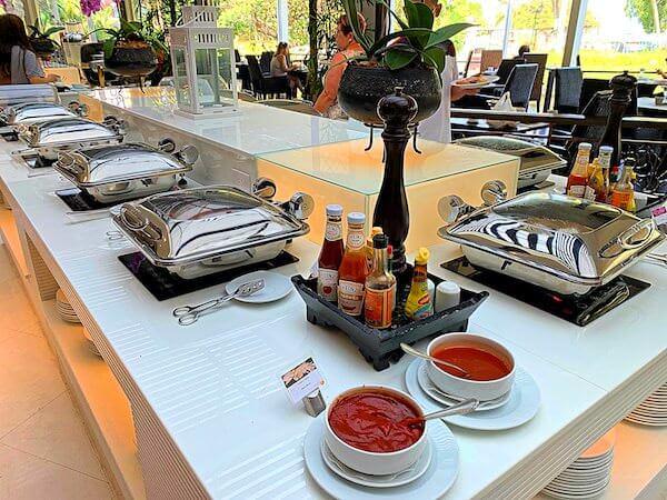 サイアムベイショアリゾートパタヤ(Siam Bayshore Resort Pattaya)の朝食ビュッフェ1