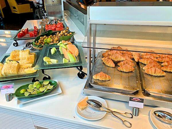 サイアムベイショアリゾートパタヤ(Siam Bayshore Resort Pattaya)の朝食ビュッフェ2