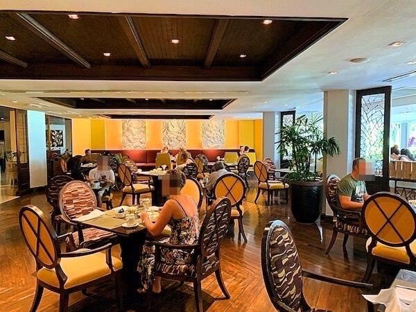 サイアムベイショアリゾートパタヤ(Siam Bayshore Resort Pattaya)の朝食会場2