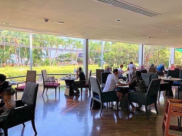 サイアムベイショアリゾートパタヤ(Siam Bayshore Resort Pattaya)の朝食会場3