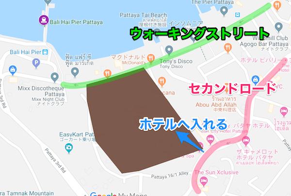 サイアムベイショアリゾートパタヤ(Siam Bayshore Resort Pattaya)の地図