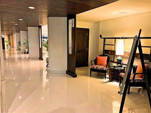 サイアムベイショアリゾートパタヤ(Siam Bayshore Resort Pattaya)のホテル内通路