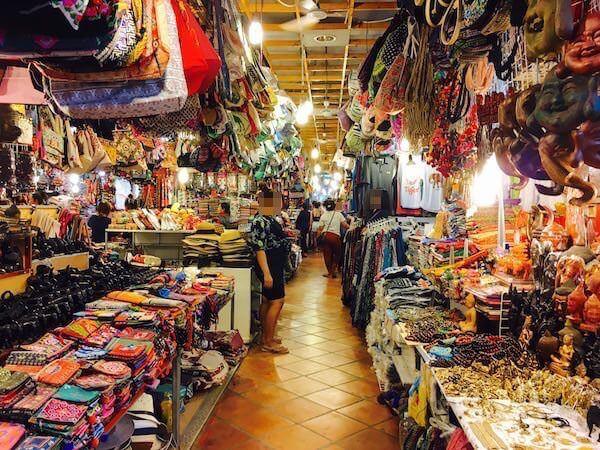 シェムリアップのナイトマーケット