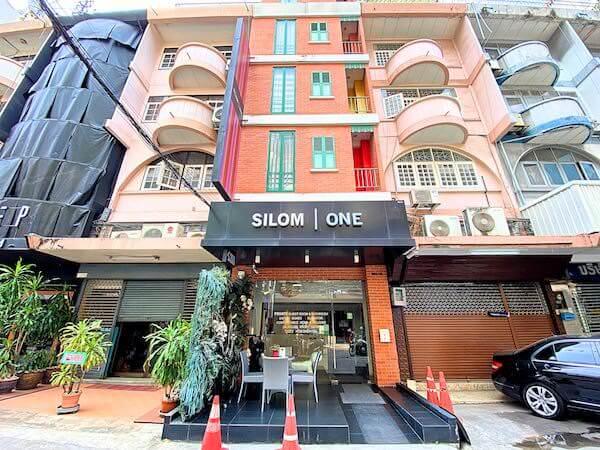 シーロム ワン ホテル(Silom One Hotel)の外観