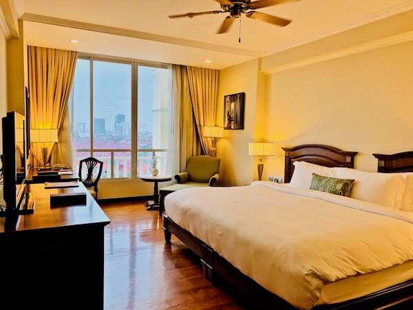 ソフィテル プノンペン プーキートラー ホテル(Sofitel Phnom Penh Phokeethra Hotel)の客室1