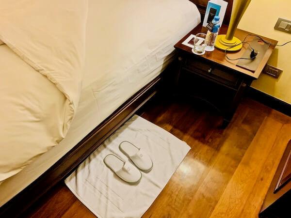 ソフィテル プノンペン プーキートラー ホテル(Sofitel Phnom Penh Phokeethra Hotel)のベッド2