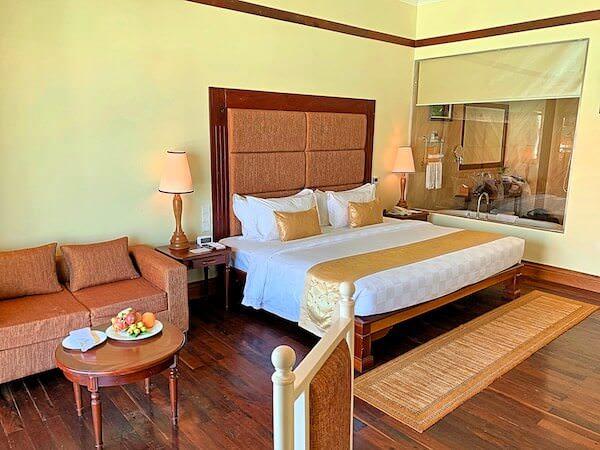 ソカ シェムリアップ リゾート アンド コンベンション センター (Sokha Siem Reap Resort and Convention Center)の客室1