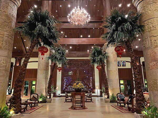 ソカ シェムリアップ リゾート アンド コンベンション センター (Sokha Siem Reap Resort and Convention Center)のエントランスロビー