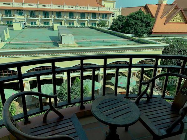 ソカ シェムリアップ リゾート アンド コンベンション センター (Sokha Siem Reap Resort and Convention Center)のバルコニー