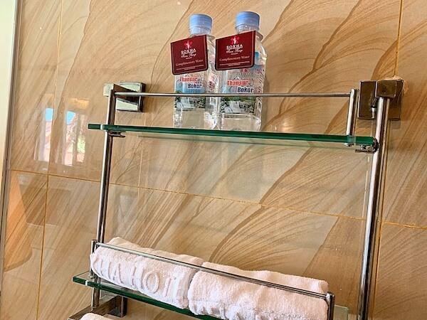 ソカ シェムリアップ リゾート アンド コンベンション センター (Sokha Siem Reap Resort and Convention Center)のうがい用ボトルウォーター
