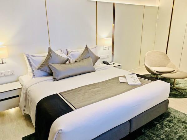 サマセット メゾン アソーク バンコク(Somerset Maison Asoke Bangkok)のベッド