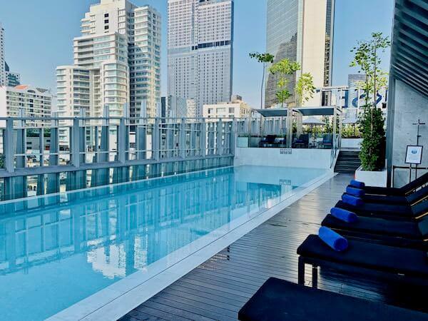 サマセット メゾン アソーク バンコク(Somerset Maison Asoke Bangkok)のプール
