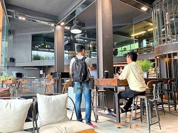 スークステーション(sook station)1階のカフェ2