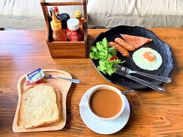 スークステーション(sook station)の朝食