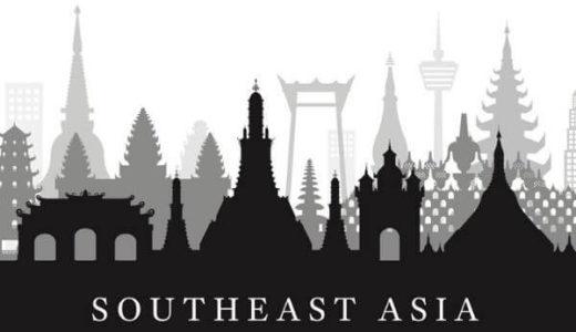 東南アジアのイラスト