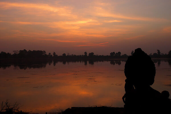 スラ・スランから見える夕日