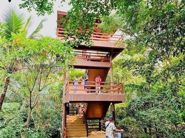 シーナコンクエンカン公園のバードウォッチング塔