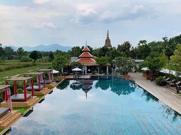 スリウィライ スコータイ(Sriwilai Sukhothai)のプール1