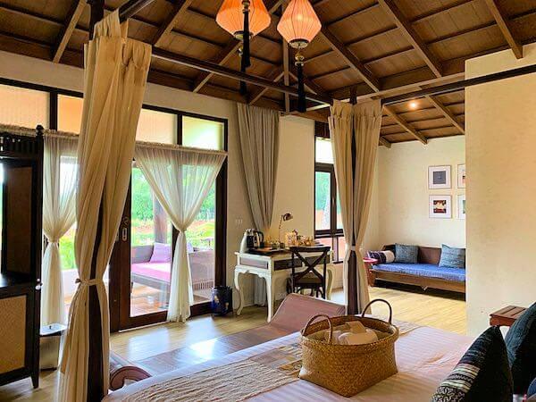 スリウィライ スコータイ(Sriwilai Sukhothai)のスイートルーム客室2