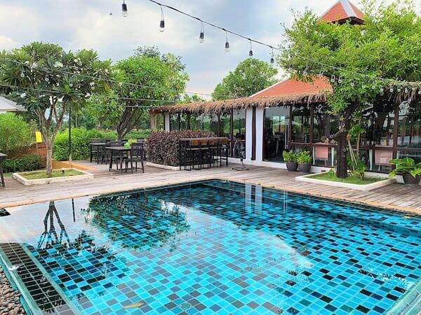 スリウィライ スコータイ(Sriwilai Sukhothai)の子供用プール