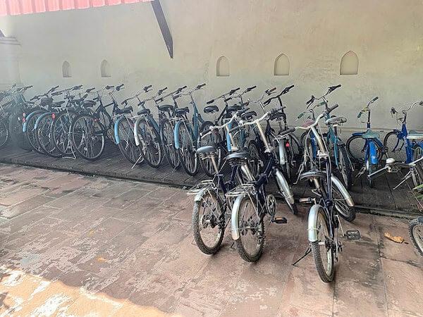 スリウィライ スコータイ(Sriwilai Sukhothai)の無料レンタル自転車