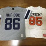 バンコクで購入したシュプリームのTシャツ2枚