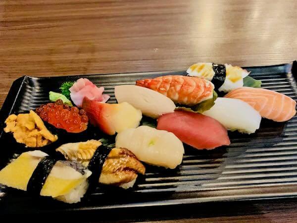 寿司 本田(Sushi Honda)の寿司盛り竹