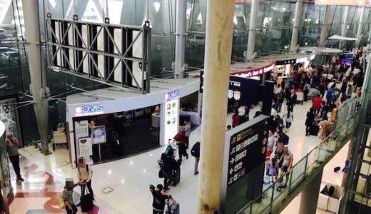 スワンナプーム空港からバンコク市内への行き方【タクシーか電車がおすすめ】