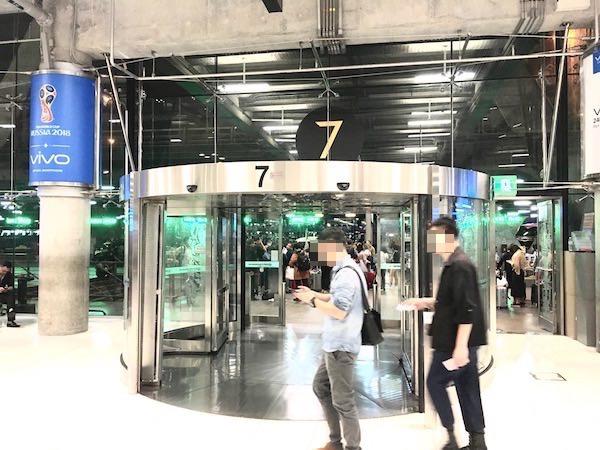 スワンナプーム国際空港の7番出口