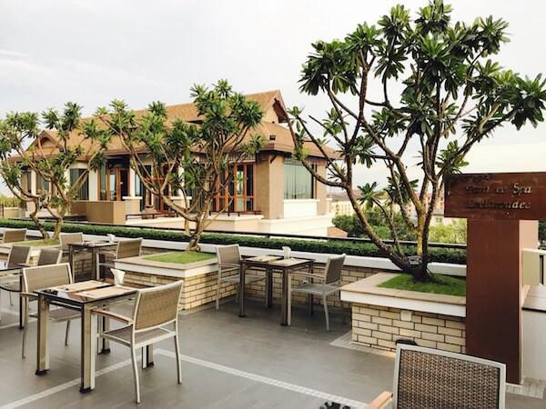 スワンナプーム スイート(Suvarnabhumi Suite)の屋上テラス
