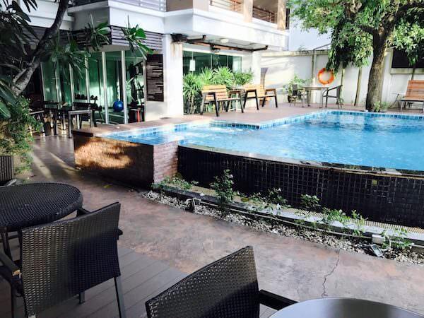 スワンナプーム スイート(Suvarnabhumi Suite)のプール