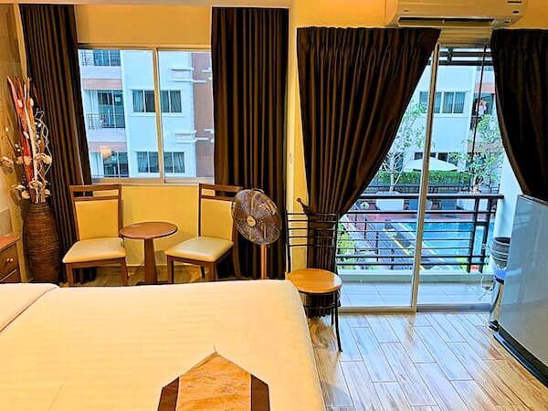 スワンナプーム ヴィル エアポート ホテル(Suvarnabhumi Ville Airport Hotel)の客室2