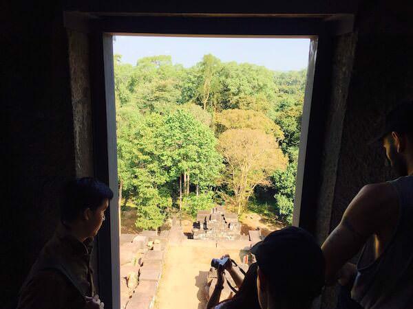 タケウの頂上から見る景色
